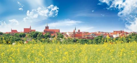 Chełmno - panorama od strony południowej, fot. Elzbieta Pawelec