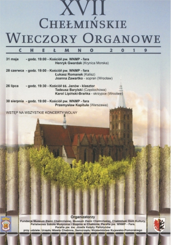 Galeria dla XVII Chełmińskie Wieczory Organowe