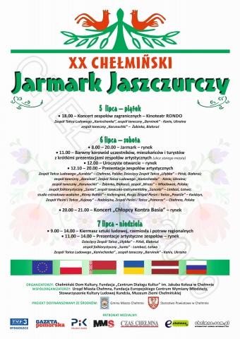 """Galeria dla XX Jarmark Jaszczurczy i Międzynarodowe Spotkania z Folklorem  """"Lato Dialogu Kultur"""""""