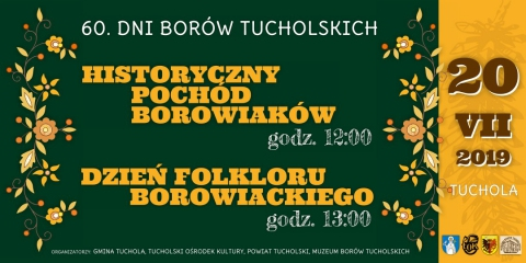Galeria dla VIII Historyczny Pochód Borowiaków i Dzień Folkloru Borowiackiego