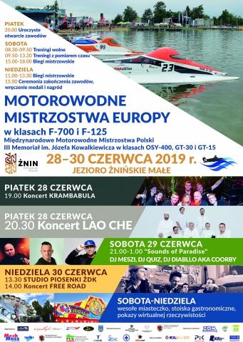 Galeria dla Motorowodne Mistrzostwa Europy w klasie F-700 i F-125