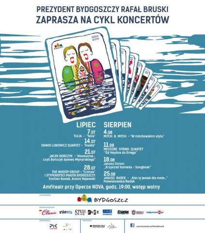 Galeria dla Rzeka Muzyki - The Whoop Group i stypendyści Miasta Bydgoszczy